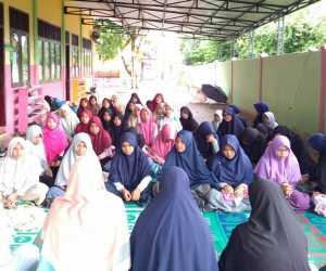 SMPIT Teuku Umar Meulaboh Laksanakan Mukhayam Quran