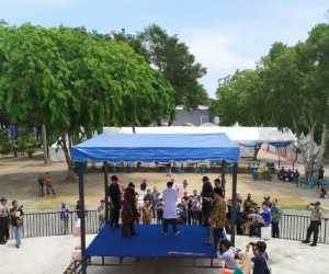Perdana, Hukuman Cambuk di Taman Bustanussalatin Banda Aceh