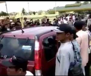 Acara GP Anshor dan Banser di Bubarkan Paksa Oleh Warga