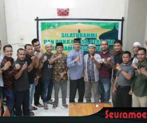 Pererat Silaturahmi, Dandim Nagan Raya Buka Puasa bersama Wartawan