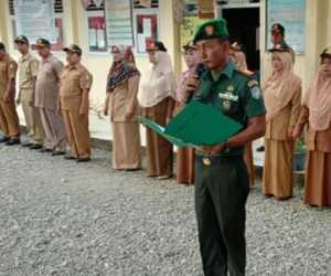 Jadi Irup di SMP-N 2, Ini Kata Danramil 08 Kuala, Kapten Inf Mahmud
