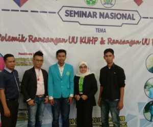 Dukung Perpu KPK, DPM UNSAM Gelar Seminar Nasional