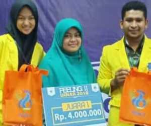 Mahasiswa UTU Juara Karya Tulis Ilmiah Tingkat Nasional
