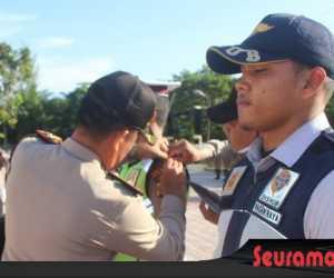 Polres Nagan Raya Gelar Apel Pasukan Operasi Keselamatan Rencong 2019