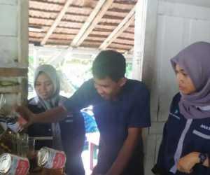 Genbi Komisariat UTU Kunjungi Kuliner Khas Aceh Barat