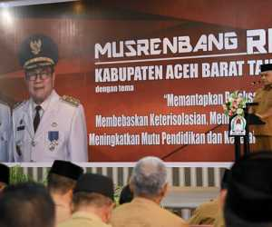Selaraskan Pogram dan Kegiatan Prioritas, Pemkab Aceh Barat Gelar Musrenbang