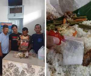 Petugas Lapas Langsa Gagalkan Upaya Penyelundupan Sabu dalam Nasi Bungkus