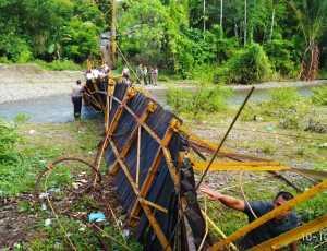Terkait Jembatan Tua, Pemkab Aceh Selatan Minta Bantuan Kementerian PUPR