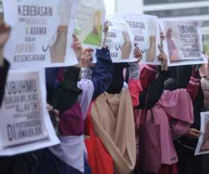 Bumikan Hijab Syar'i, Gerakan Menutup Aurat di Gelar