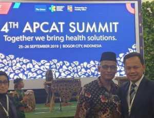 Bupati Nagan Raya Hadiri Forum Kampanye Anti Rokok di Bogor