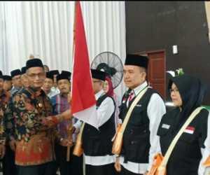 Bupati Nagan Raya Lepas Keberangkatan 393 JCH Kloter 12 Embakarsi Aceh