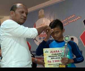 Nagan Raya Raih Juara III Ranang Putra Pada Olimpiade Provinsi Aceh 2019