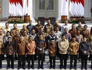 Ini Daftar Lengkap Nama Nama Menteri Kabinet Indonesia Maju