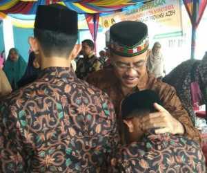 Wabup Abdya Lepas Keberangkatan 46 Kafilah MTQ ke Pidie