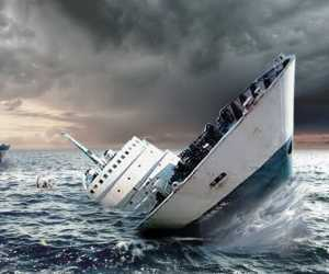 BREAKINGNEWS - Dihantam Ombak, Boat Nelayah Teunom Karam