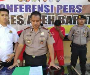 Tiga Pencuri Mesin Kilang Padi di Suak Raya Dibekuk Polisi