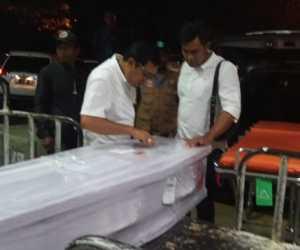 Jenazah TKI Asal Aceh Tamiang Yang Meninggal Di Malaysia, Mendarat di Aceh