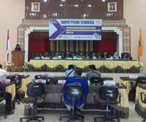 KIP Abdya Tetapkan 25 Anggota DPRK Terpilih Periode 2019-2024