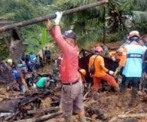 Longsor Sukabumi Memakan Sejumlah Korban