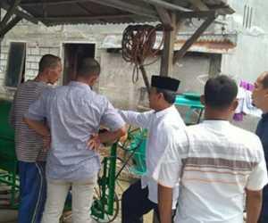 Tim DPMG Aceh Kunjungi Rumah Rudianto S, Juara Teknologi Tepat Guna