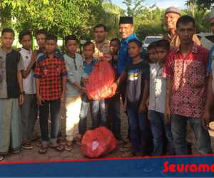 Sejumlah Panti Asuhan dan Dayah di Aceh Barat Terima Berkah Ramadhan Dari PT Mifa