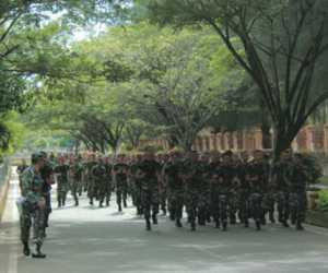 Minggu Militer Kodim Nagan Raya, Agar Prajurit Tak Lupa Dasar Keprajuritan