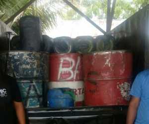 Kedapatan Angkut BBM Bersubsidi, Dua Pria Ditangkap Polisi
