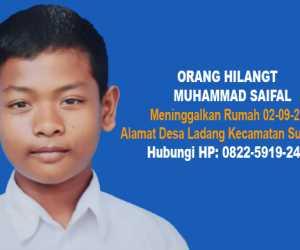 Dua Pekan Meninggalkan Rumah, Remaja Abdya Belum Ditemukan