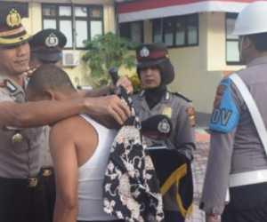 Dua Personil Polres Nagan Raya Berpangkat Brigadir Dipecat