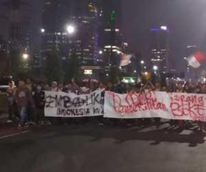 Malam Ini Ribuan Pelajar Jabodetabek Bergerak Menuju Gedung DPR RI