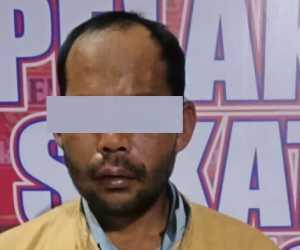 Siram Air Keras ke Istrinya, Pria Ini Ditangkap Polisi