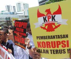 Dukung KPK Brantas Korupsi Di Aceh, GEMAK Gelar Aksi