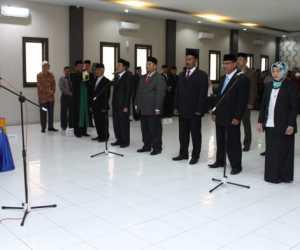 Rektor UTU Rombak Kabinet Kerja
