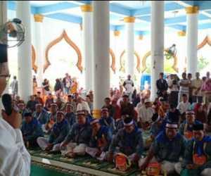 Bupati Nagan Raya Lepas Keberangakatan 162 Jamaah Calon Haji