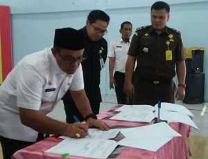 Pemkab Aceh Jaya Tanda Tangan MoU Dengan Kejaksaan