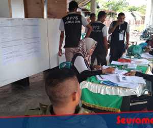 Hasil Sementara: Jokowi-Ma'ruf Amin Kalah di Aceh Jaya