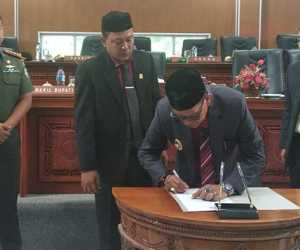 Tiga Qanun Aceh Jaya Disahkan DPRK