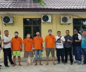 4 Pelaku Pencurian di Aceh Barat Ditangkap di Banda Aceh, Satu Pelaku Didor
