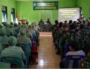 Kodam IM Beri Penyuluhan Hukum di Kodim 0114 Aceh Jaya