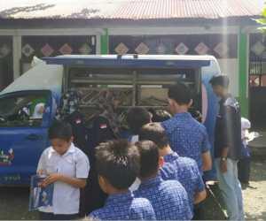 GenBI Aceh Adakan Perpustakaan Keliling di Aceh Barat