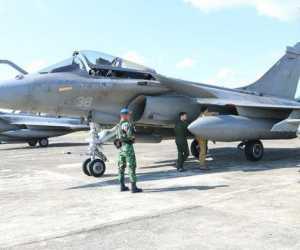 Tujuh Pesawat Prancis Mendarat Darurat di Lanud SIM, Ini Penyebabnya