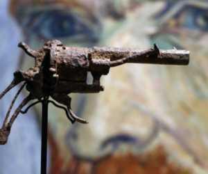 Meski Telah Jadi Besi Tua Pistol Van Gogh Terjual Rp 2 M
