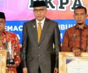 Abdya Raih Penghargaan Terbaik II Anugerah Award Madjid Ibrahim