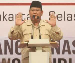 Resmi! Prabowo Tolak Pemilu Curang, Ini Isi Pidato Lengkapnya