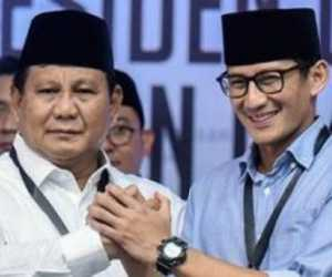 Real Count BPN, Prabowo-Sandi Unggul Jauh Dari Jokowi-Ma'ruf