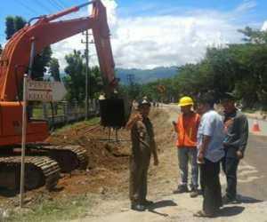 PUPR Abdya Pastikan Pembangunan Jalan Dua Jalur Tahap I Selesai di Tahun 2019