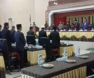DPRK Abdya Gelar Rapat Paripurna Pembahasan Rancangan KUA PPAS dan APBK Perubahan 2019