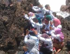 Viral..! Ada Ritual Aneh di Destinasi Wisata Tapak Tuan Aceh Selatan