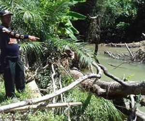 Paska Banjir, BPBK Abdya Tinjau Lokasi Erosi Krueng Manggeng