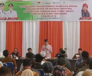 Pemkab Agara Mulai Sosialisasikan BPNT Melalui Camat dan Kepala Desa